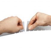 Shelf Pusher System Divider break points let you snap-to-length