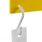 Plastic Suspension Hooks x 100