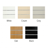 The different finishes that are available