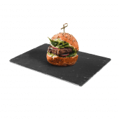 Slate serving board for cafes and restaurants