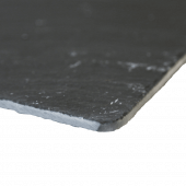 Thin profile of the slate boards