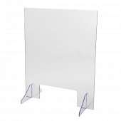 Flat Pack Sneeze Screen 650mm x 800mm