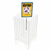 Basket showcard holder frame