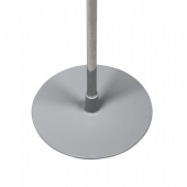 Sign holder stand with round base