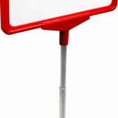 Poster Stand with Coloured Base to display showcards