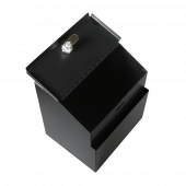 Metal Ballot Box with Lock