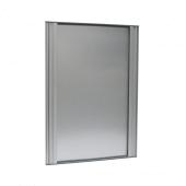 Aluminium sign holder frame for portrait or landscape use