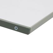 Sturdy aluminium sign holder frame