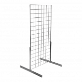 Gridwall legs to support gridwall panels up to 6ft