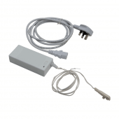 Each kit comes with a 96W mains power adaptor