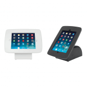 White and Black Counter Top Tablet Holders
