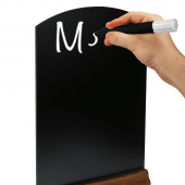 Tabletop Chalkboard are ideal for restaurant menus
