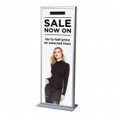 Large Poster Totem with snap frame closure