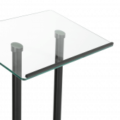 Tempered Glass Lectern