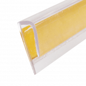 Adhesive J Channel for POS displays