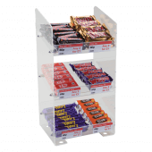 Three Tier Confectionery Stand, Acrylic Merchandising Display