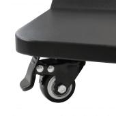 Touchscreen Digital Display with brake wheels