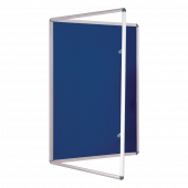 Blue Tamper Resistant Notice Board