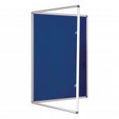 Blue Tamper Resistant Notice Board