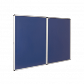 Blue Tamper Resistant Noticeboard