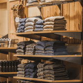 Twin Slot Brackets for Wooden Shelves