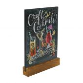 Countertop Chalkboard Menu