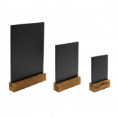 Small chalk menu board available in 3 sizes