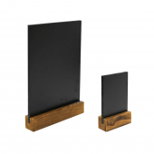 Small chalk menu board available in A4 and A6 tabletop chalkboard menu sizes