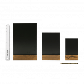 A4, A5 and A6 sizes of the Countertop Chalkboard Menu