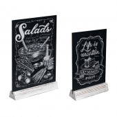 Tabletop chalkboard ideal for cafe and restaurant signage