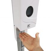 Automatic sensor has a 20cm range