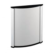 A6 wall mounted aluminium sign holder