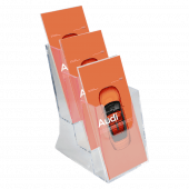 3 x 1/3 A4 Portrait Leaflet Holder