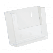 Display your leaflets neatly and accessibly with a wall mounted leaflet holder