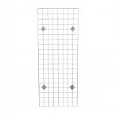 Chrome Wall Mounted Gridwall Display Kit