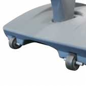 Waterproof Pavement Sign with wheels for easy transportation