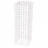 Large White Wire Display Plinth