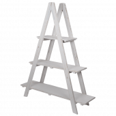 Wood Ladder Display Shelves