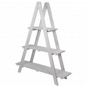 Wood Ladder Display Shelves
