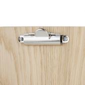 Wooden Wine List Clipboard clip close up