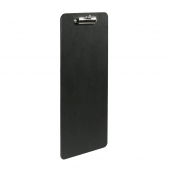 Wooden Wine List Clipboard with a black finish