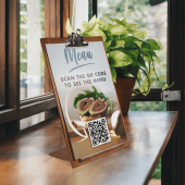 Use a menu clipboard in pubs, cafes and restaurants