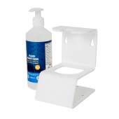 Hand sanitiser holder supplied complete with gel