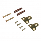 Wooden Leaflet Holder screws and fixings