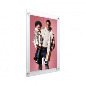 Supervue Acrylic Wall Mount Panel Poster Kit