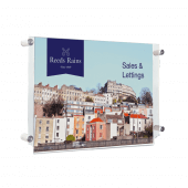 Landscape Acrylic Panel Poster Kit with Side Grip