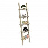 Rustic Wooden Display Ladder for product merchandising
