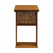 Wooden Lectern, great for greeting guests in restaurants