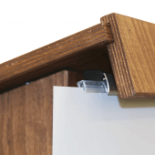 Get your restaurant podiums with bespoke printed posters