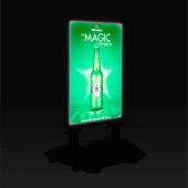 LED outdoor signs for business allow you to advertise in the dark